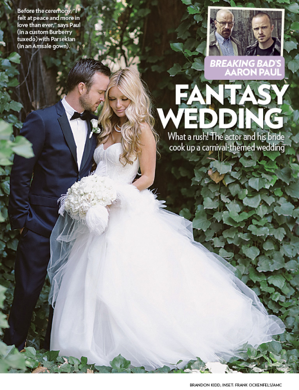 Aaron Paul And Lauren Parsekian S Wedding Featured In People Magazine 187 Brandon Kidd Photography